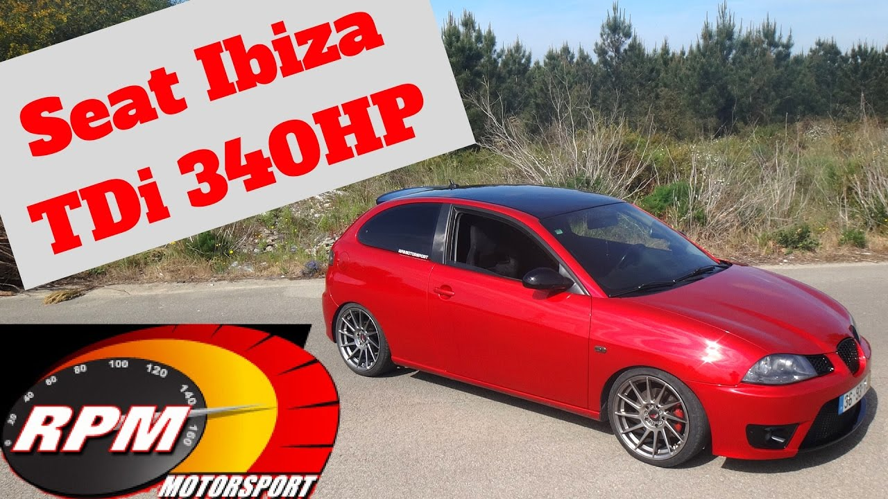 340hp seat ibiza tdi portugal stock and modified car. Black Bedroom Furniture Sets. Home Design Ideas