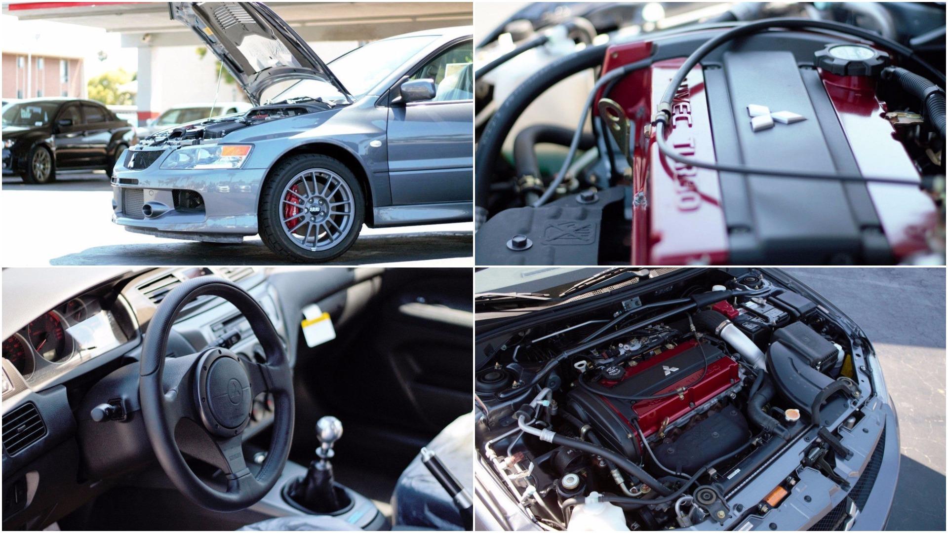 Um Stand Da Califórnia Vende Um Mitsubishi Lancer Evolution IX 2006 Nunca  Usado, Este Mitsubishi Que Marca Menos De 15 Km No Lendário Painel é O  Sonho De ...