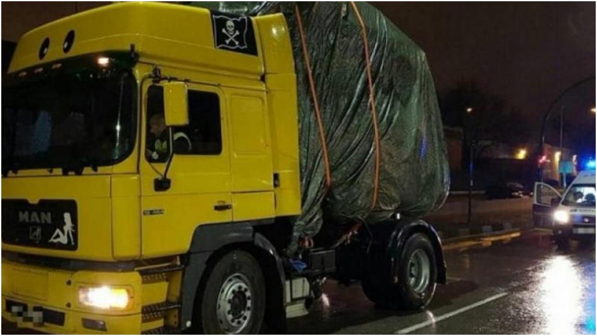 No te vas a creer lo que llevaba un conductor rumano en una furgoneta